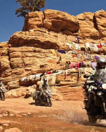 Voyage moto Maroc avec Monsieur Pingouin
