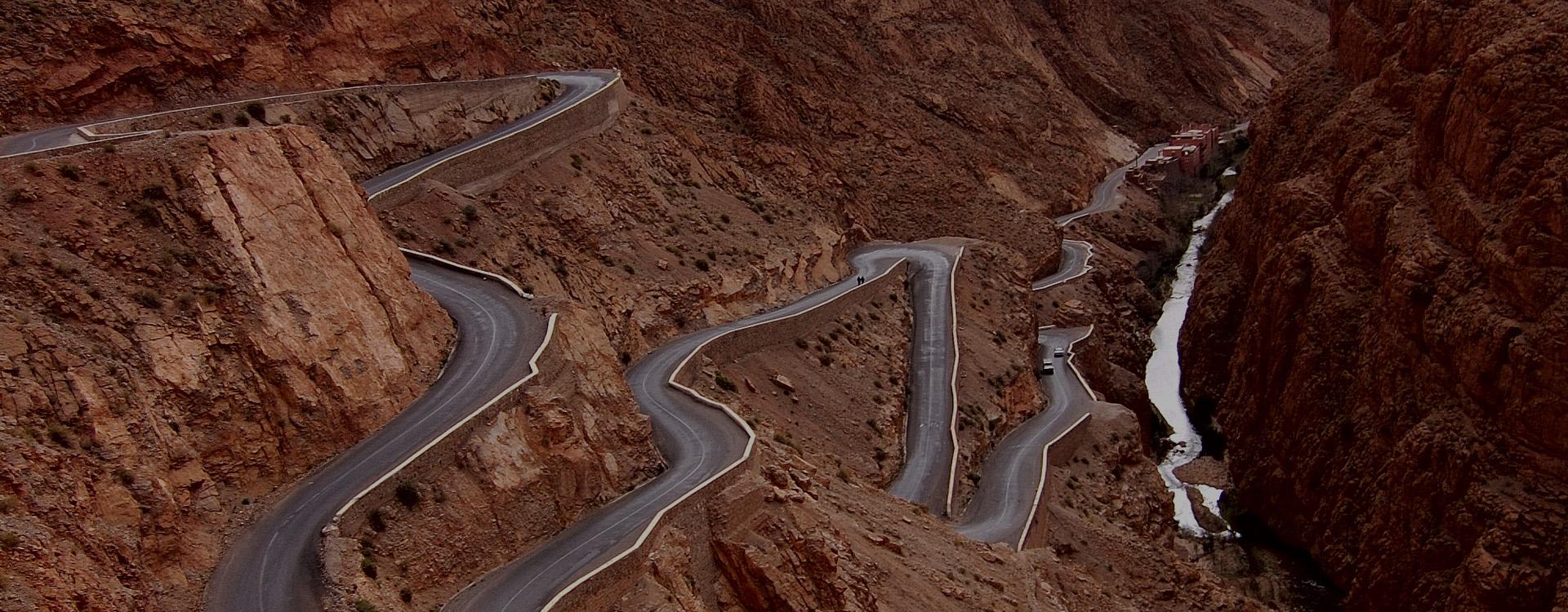 voyage moto au Maroc avec Monsieur Pingouin