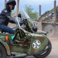 Voyage moto et side en Russie