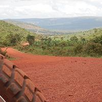 Voyage à moto au Rwanda avec Monsieur Pingouin Piste