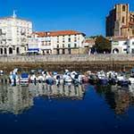 Voyage moto Espagne avec Monsieur Pingouin castro-urdiales